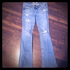 Girls boot cut jeans